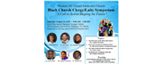 The Latest Edition of E-News - Black Church Symposium, Disciple Bible Outreach, Wesley Heritage Tour