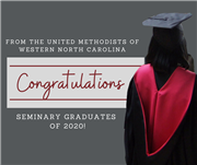 Congratulations to the WNCC Seminary Graduates of 2020!